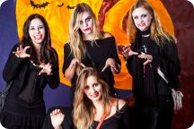Halloweenkalaset: Studio